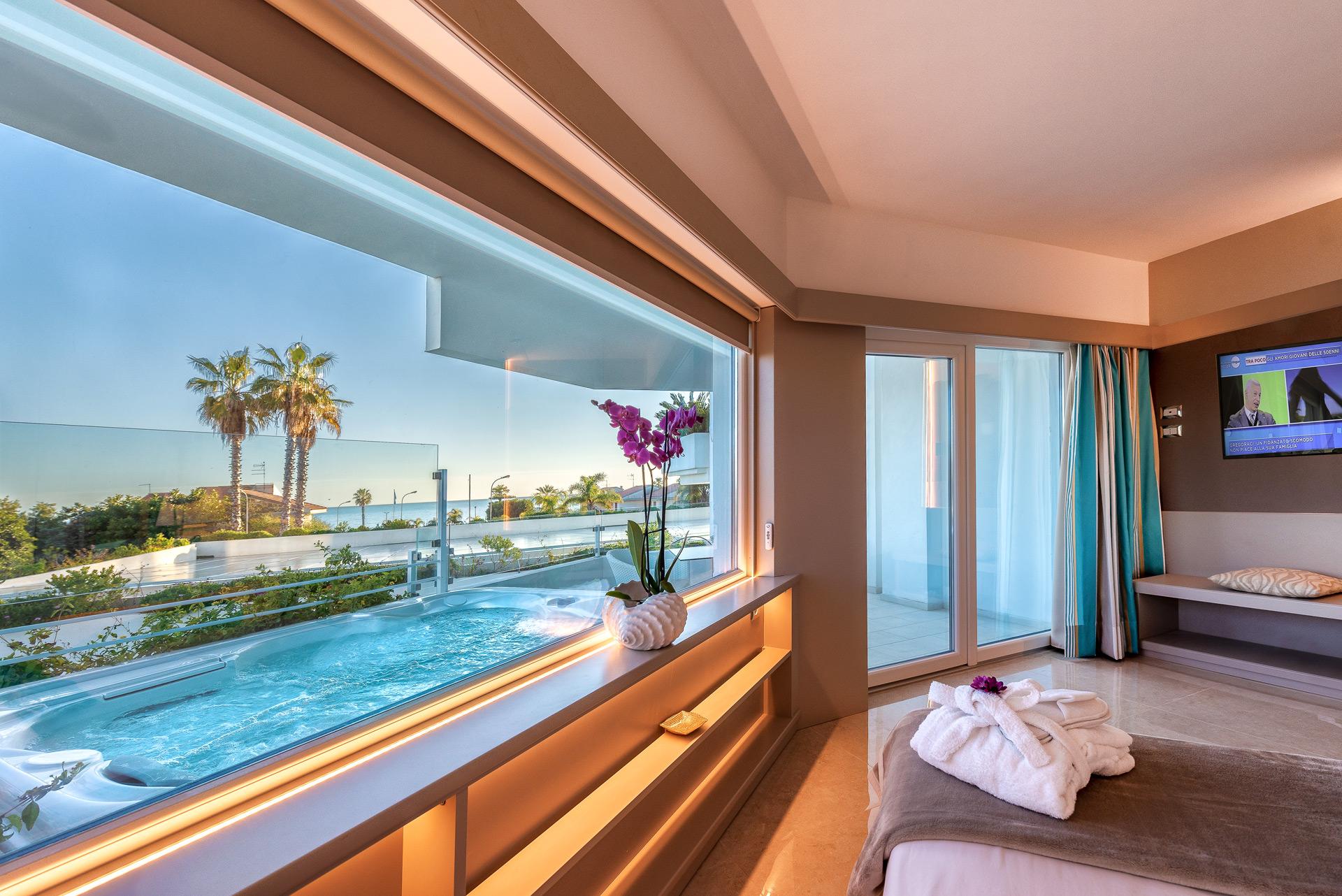 Hotel Marina di Ragusa Palace-Jacuzzi