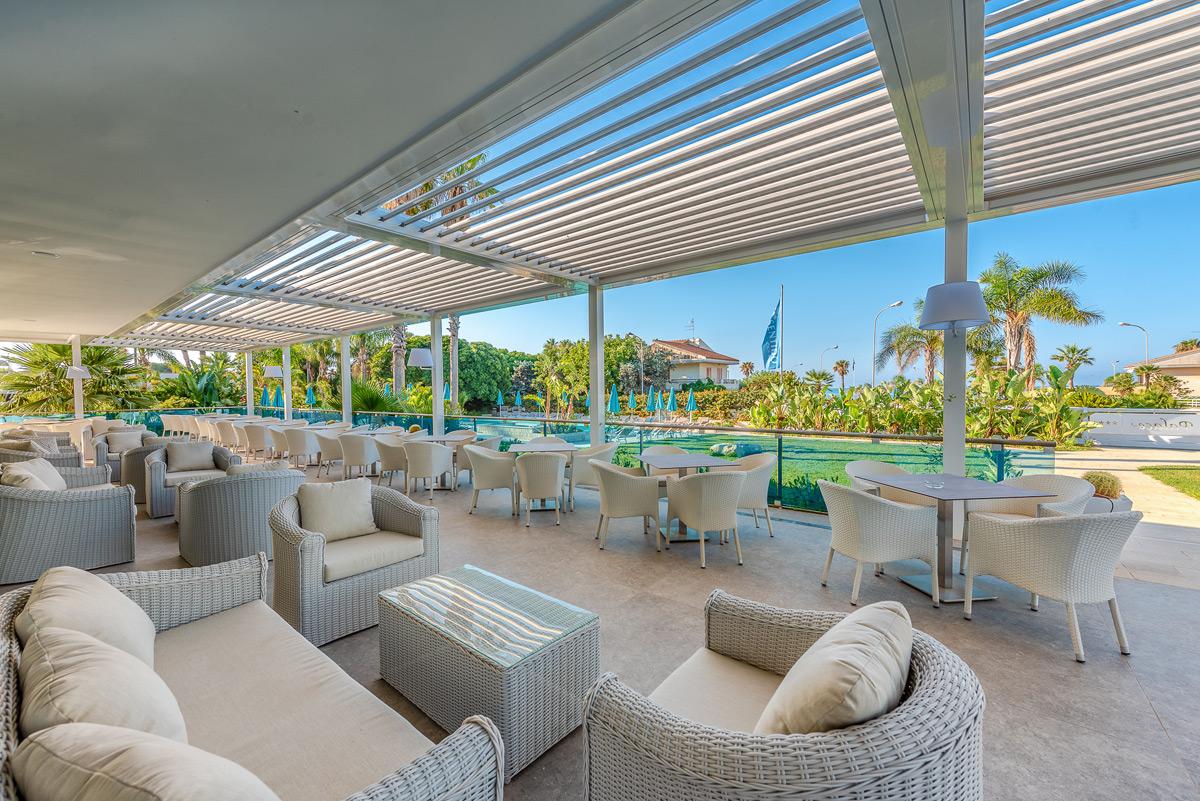 Hotel Marina di Ragusa - Patio-Bar